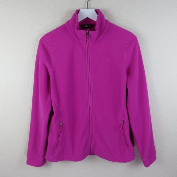 The North Face Jackets & Blazers - The North Face Pink Zip Up Fleece